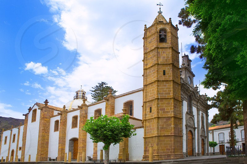 Gran Canaria Teror church Basilica Nuestra senora del Pino in Canary Islands photo