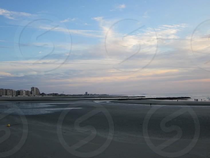 @ The beach in newport belgium. photo