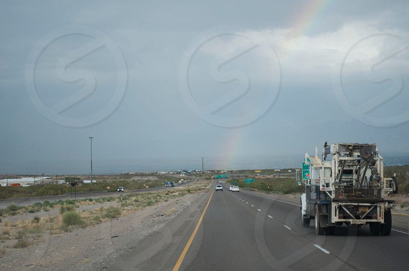 The road ends in a Rainbow photo
