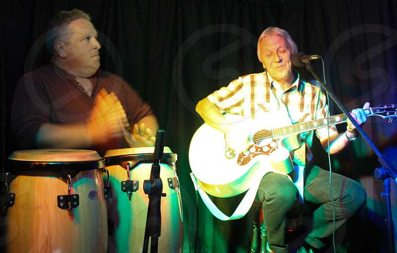 Bongos and acoustic   photo