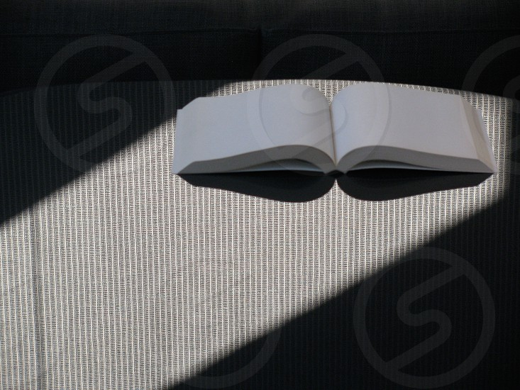 empty book light photo