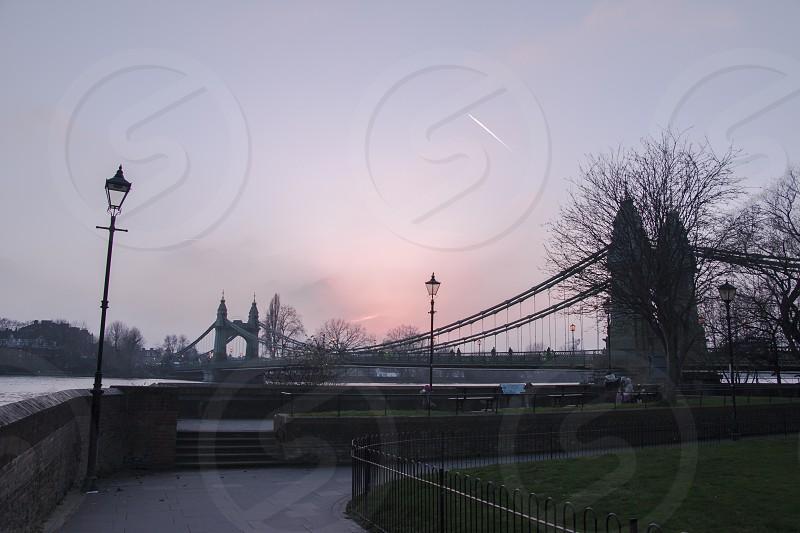 Hammersmith Bridge London (United Kingdom) photo