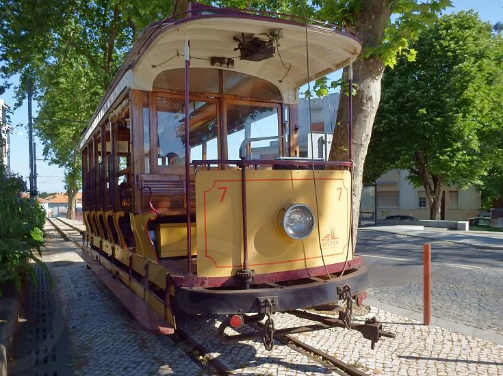 Sintra Tramway Car Vintage photo