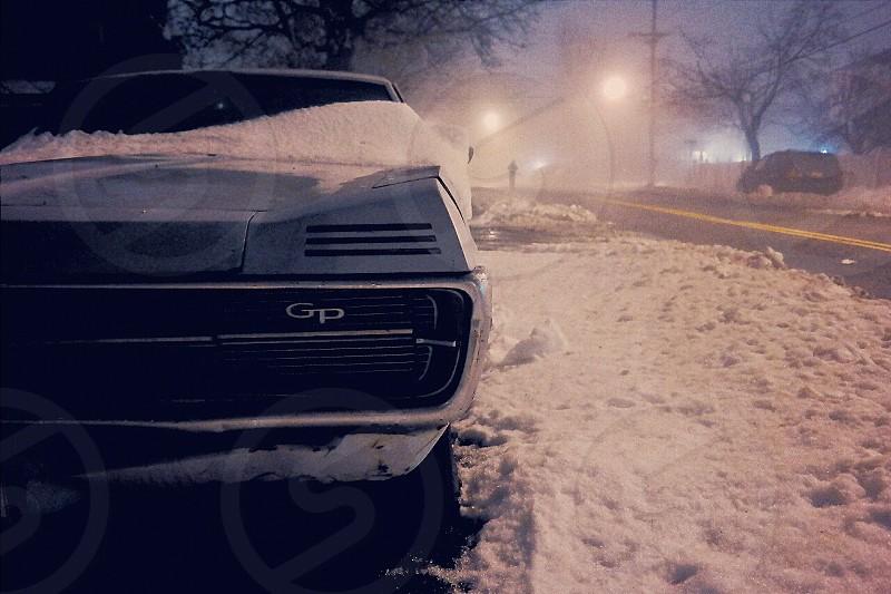 Winter in New York City photo