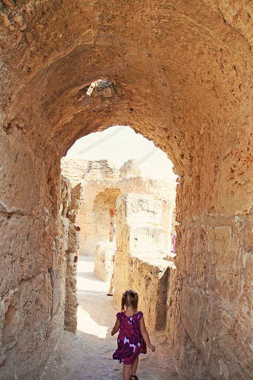 Carthage Tunisia Roman ruins photo