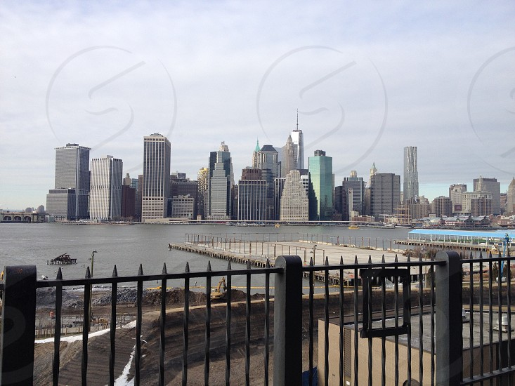 NYC skyline from Brooklyn  photo