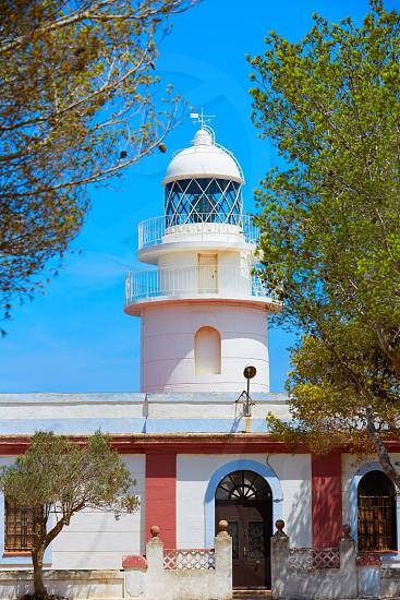 Sant Antonio Cape Lighthouse in Javea Denia in Alicante of Spain photo