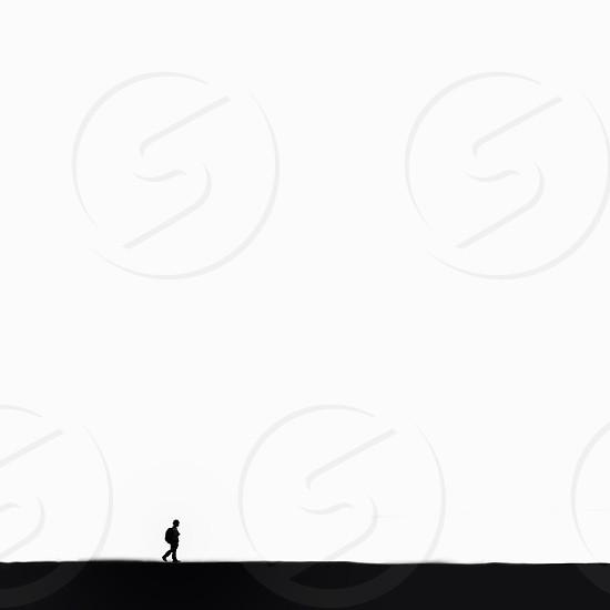 boy silhouette white background photo photo
