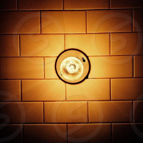 round ceiling light photo