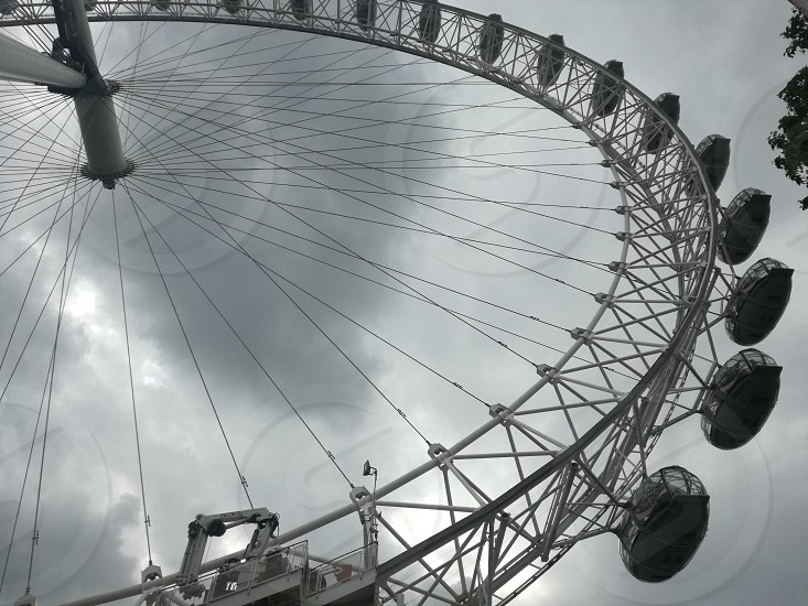 The Wheel of London tourist attraction photo