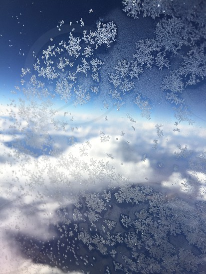 High above the clouds ice flying vacation travel clouds sun sunshine  photo
