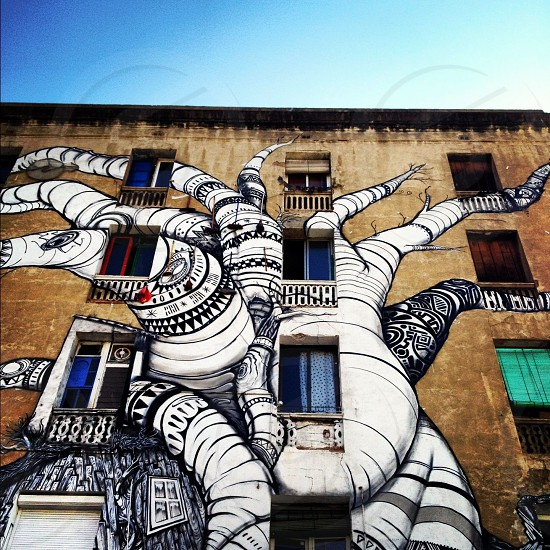 Barcelona street art (artist: unknown) photo