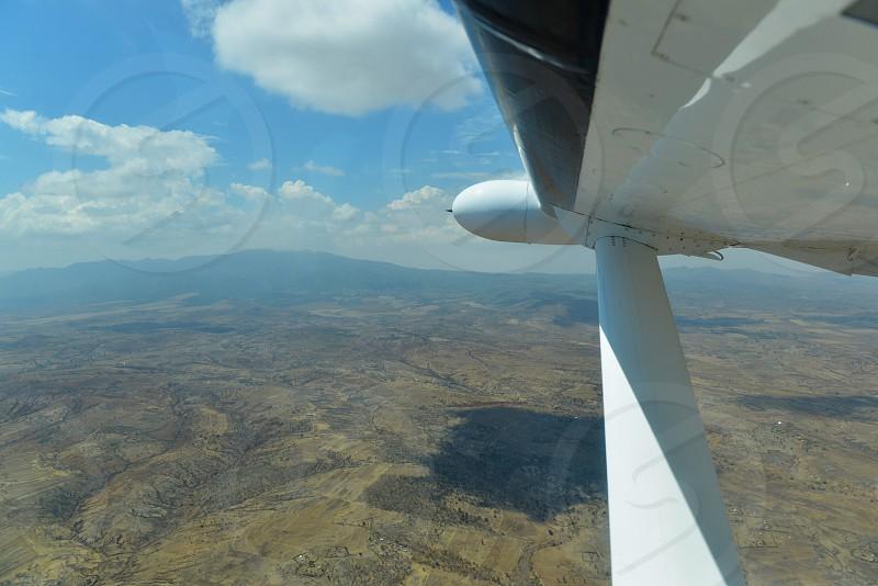 Planes Views from Airplane Airplanes Sky Africa Tanzania landscape outdoors nature Serengeti Safari photo