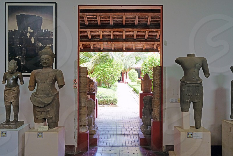 National Museum of Cambodia - Phnom Penh Cambodia photo