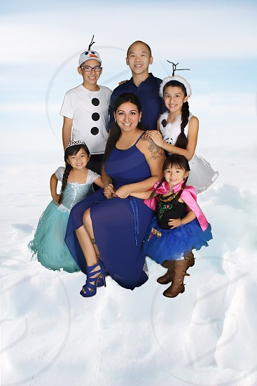 Frozen family photo  photo