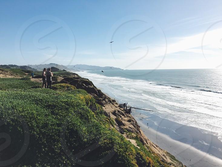 San Francisco Fort Funston California Beach Ocean Pacific photo