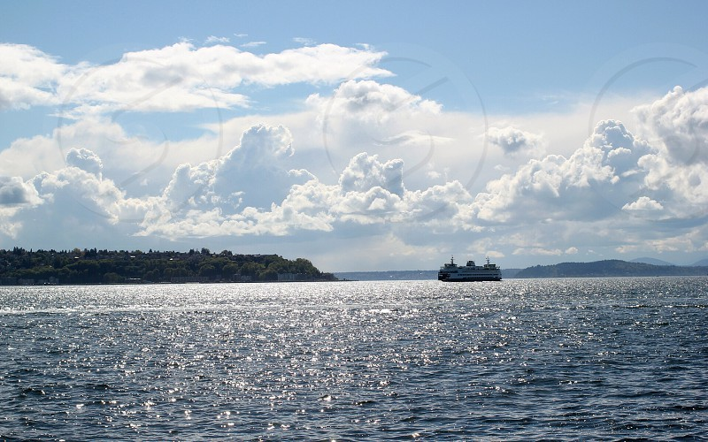 cruise ship on sea during daytime photo