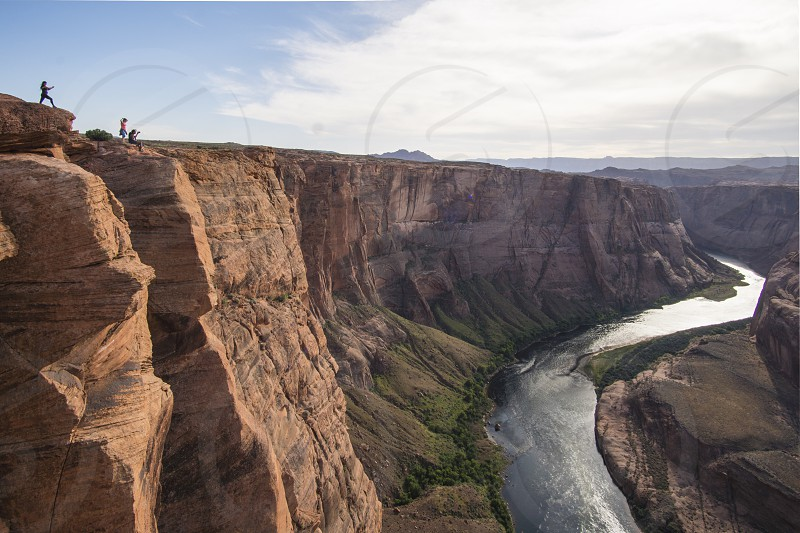 Horse Shoe Bend in Page Arizona photo