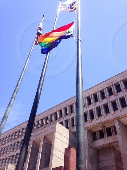 Boston Pride City Hall photo