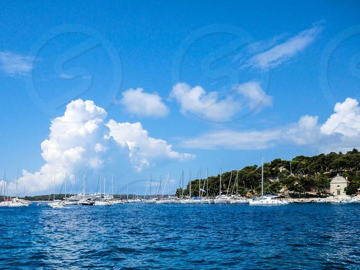 croatian island hvar photo