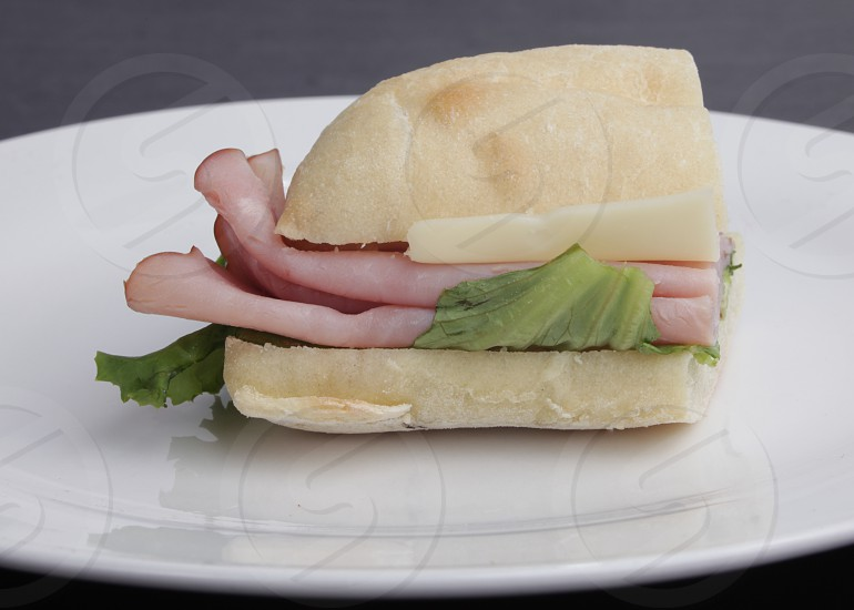 Ham sandwich  photo