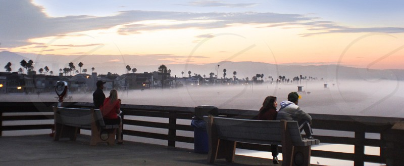 Newport Pier sunrise photo
