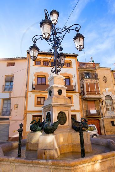 Segorbe Plaza Cueva Santa square in Castellon at Spain Valencian Community photo