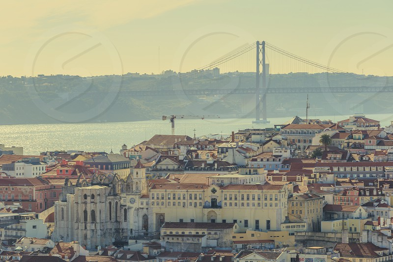 landscape in lisbon photo