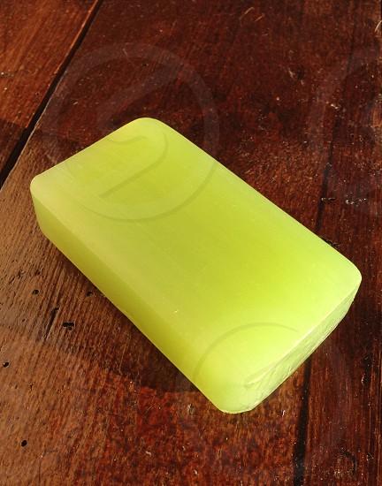 Pure Olive soap green soften cleanse skin wash hygiene  photo