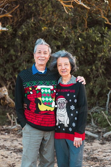 Time for annual holiday family photos. photo