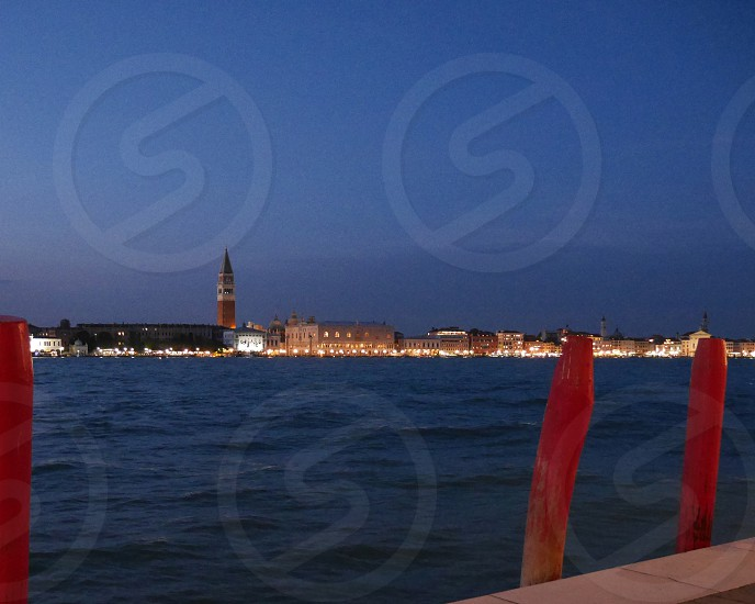 Venice Italy Night photo