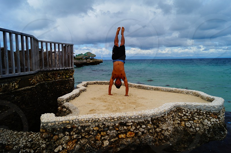•Tropical Handstand• photo