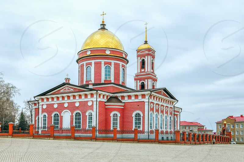 Holy Trinity Russian Orthodox Cathedral. Birsk. Bashkortostan. Russia photo