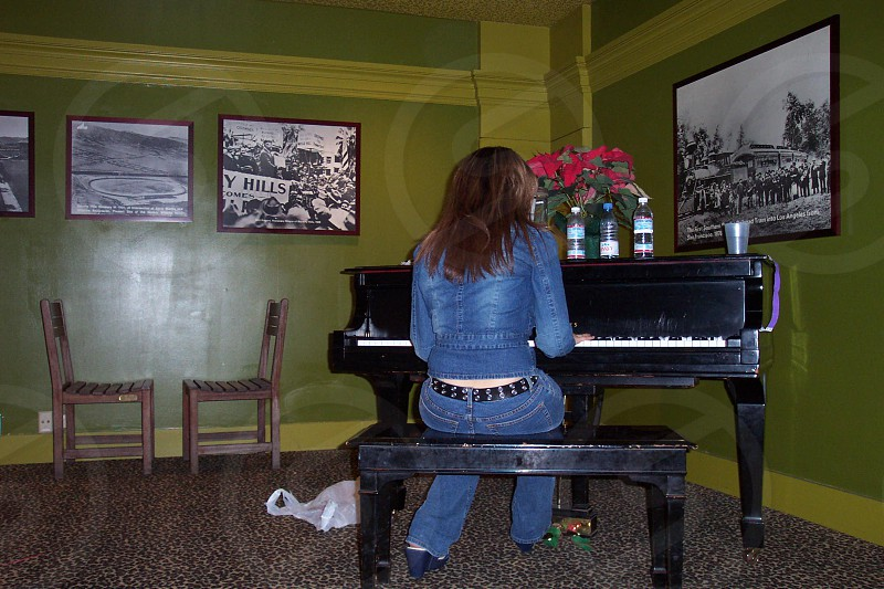 The Greenroom from the famous Gibson Amphitheater in universal City California photo