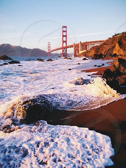 Golden Gate Bridge from Marshall's Beach photo