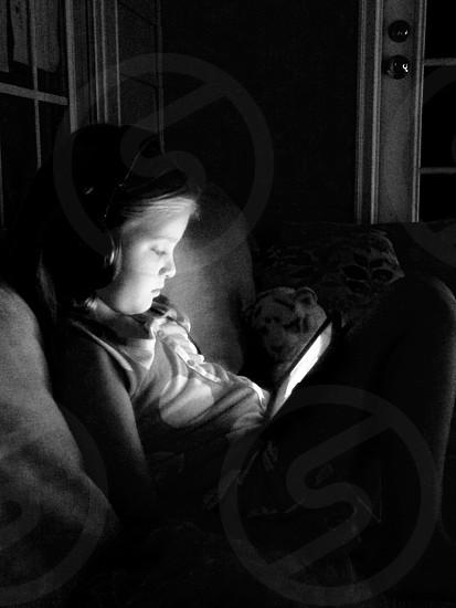 Full immersion         IPad Apple gaming children photo