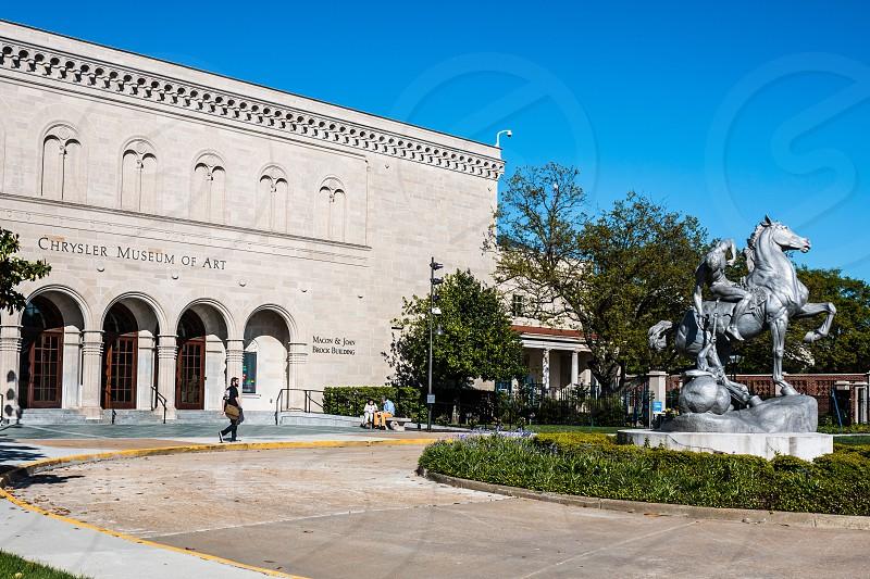 Chrysler Museum of Art Building in Norfolk Virginia. photo