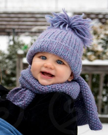 Happy baby. photo