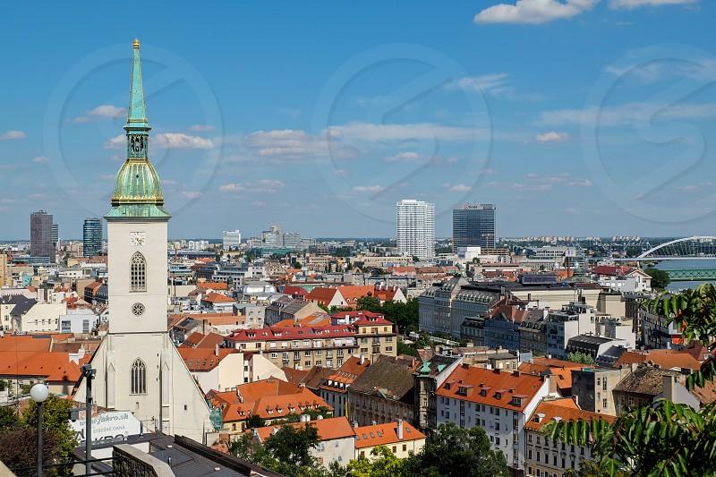 St. Martin`s Cathedral in Bratislava Slovakia. photo