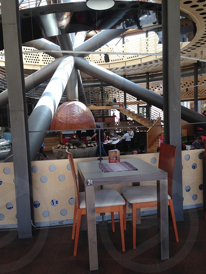 Restaurant interior. photo