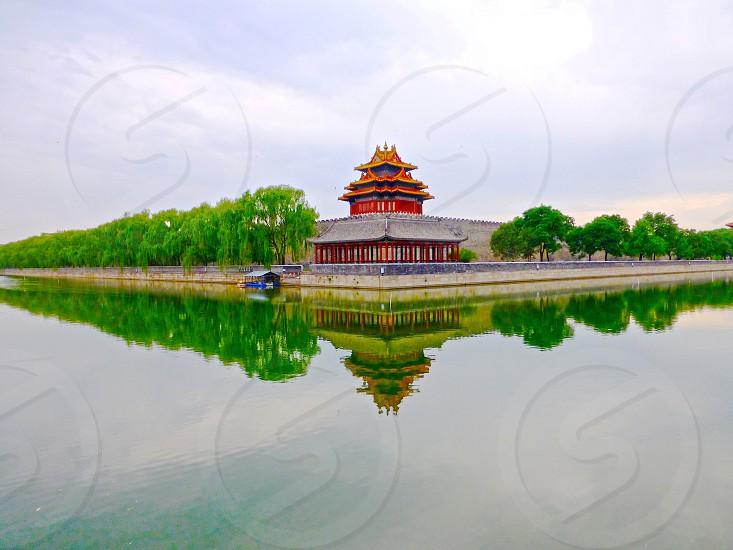Beijing China Forbidden City photo