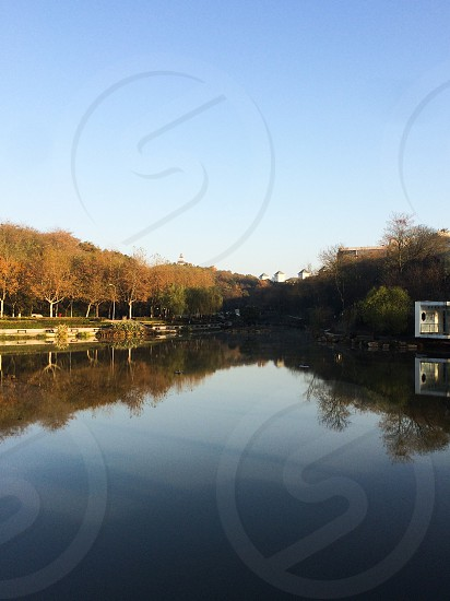 南京工业大学校园秋景 photo