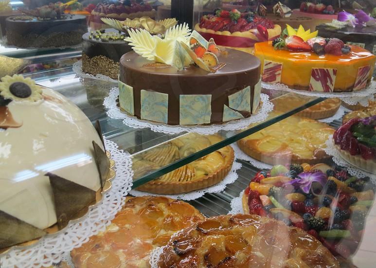 Cakes and tarts photo