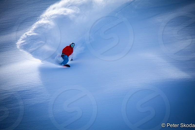 ski powder extreme free ride backcountry mountain sport winter photo