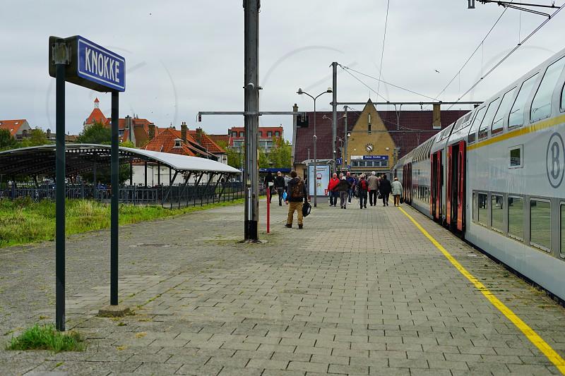 Knokke Heist in West Flanders Belgium photo