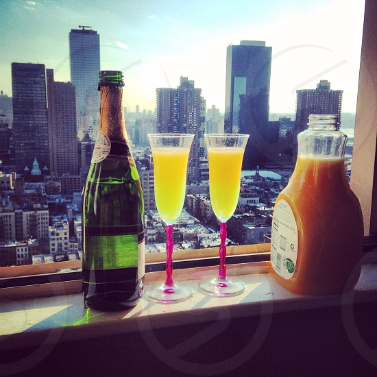 Sunday funday with mimosas. photo