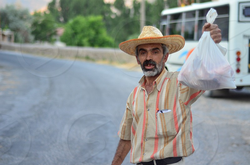 Village people turkey old guy photo