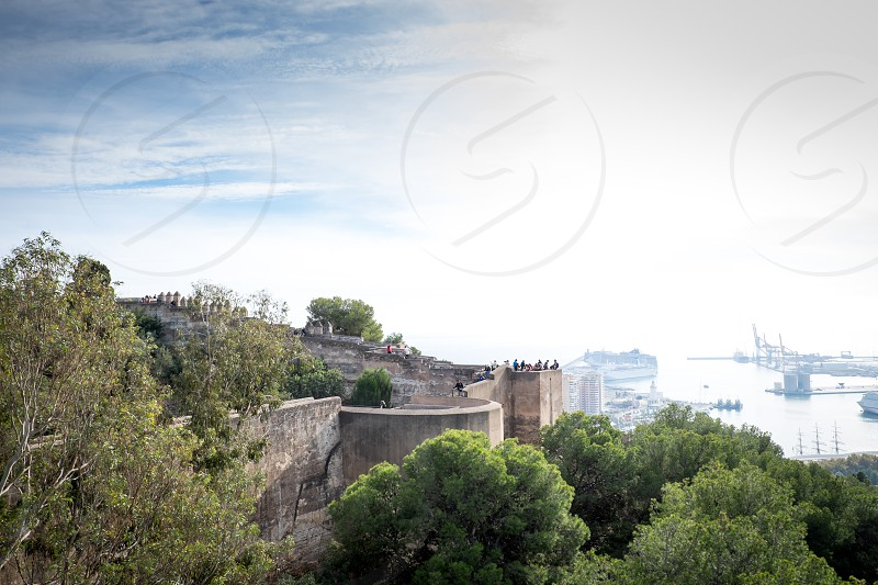 Gibralfaro castle Malaga photo