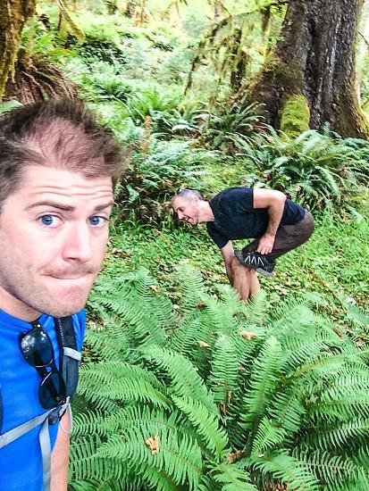 Tbt rainforest weird selfies  photo