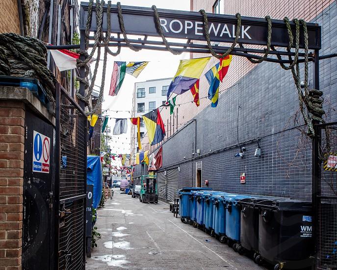Rope Walk Bermondsey London photo